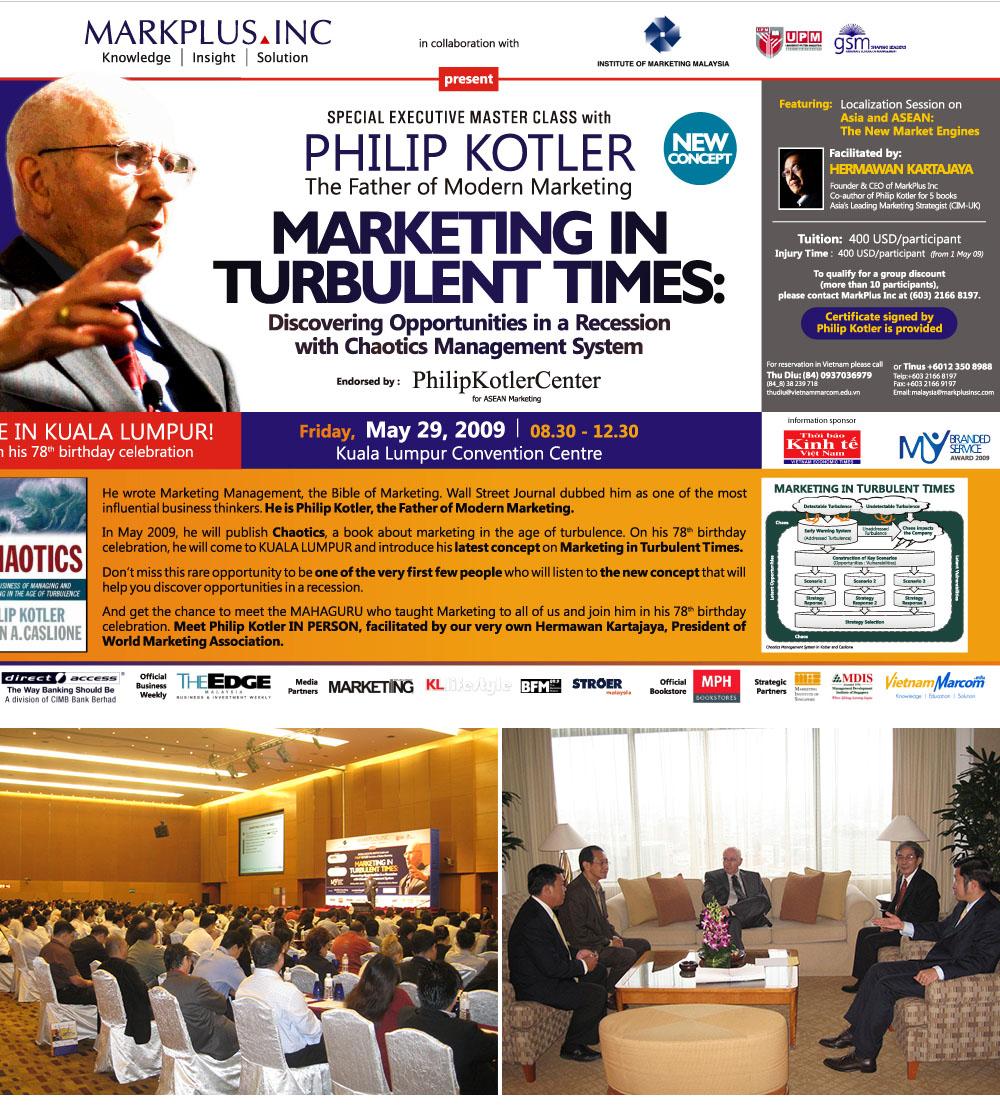 Philip Kotler News